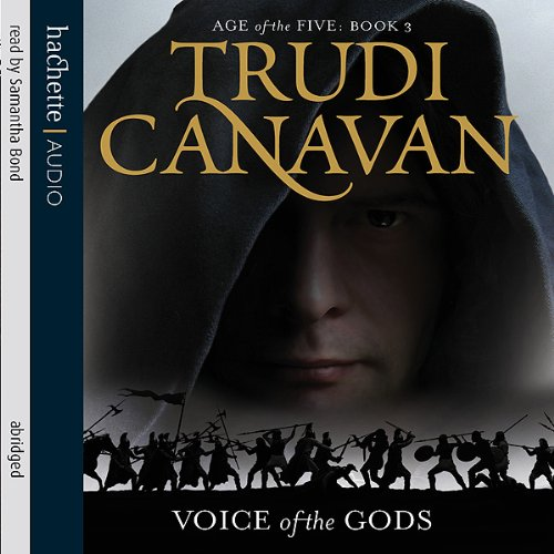 The Voice of the Gods audiobook cover art