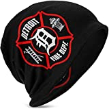 Photo de ZMYGH Baby Boys Girls Detroit Fire Dept. Beanie Hats Knit Hats Great for 3-15 Years Old par