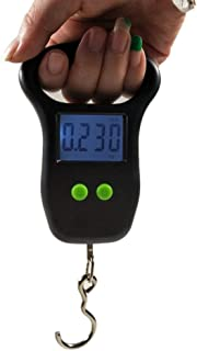 110 LB Electr/ónica LCD Digital Colgante de Peso Escala de Peso Escala de Equipaje para Maleta de Equipaje Bolsa de Viaje EdBerk74 50 kg