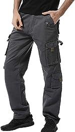 2019 Pantalons Hommes à Boutons Outdoors 2019 Casu
