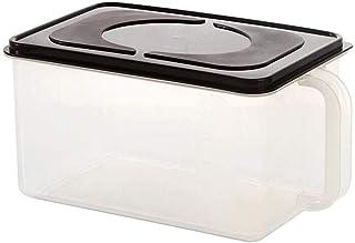 AWAING Bocaux Céréales des contenants de stockage de conteneurs en plastique Joint Ensemble 2 pièces cuisine Grain boîte d...