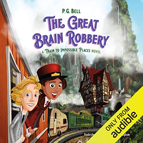 The Great Brain Robbery audiobook cover art