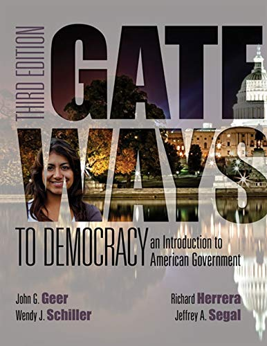 Gateways to Democracy: An Introduction to American Government (with MindTap Politcal Science, 1 term (6 months) Printed