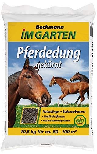 Pferdedung Biodünger Pferdemist Gartendünger gekörnt 10,5 kg