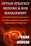 Option Strategy Hedging & Risk Management: An In-Depth Article Introducing an Interactive Analytical Framework for Hedging Option Strategy Risk - Brian Johnson
