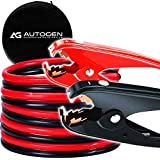 AUTOGEN Booster Cable, 2 Gauge 25Ft 800AMP Heavy Duty Jumper Battery Cables with Carry Bag for Car Battery