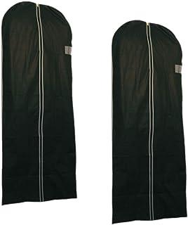 LS design 2x LS-LebenStil Housse Non-Tissé Noir 60x 150cm