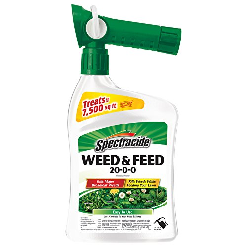 Spectracide Weed & Feed 20-0-0, Ready-to-Spray, 32-Ounce, 6-Pack