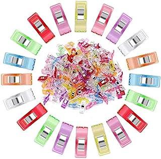 Aicoimy Pince Couture, 108 Pièces Clips de Couture, Pinces Couture Clips, Pinces à Couture Polyvalentes, Clips à Couture p...