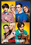 1art1 The Big Bang Theory Pster con Marco (Madera DM) - Mosaico (91 x 61cm)