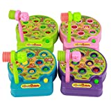Toyvian Juguetes para niños Juegos eléctricos Whack a Mole música Juguetes Juguetes Divertidos Juguetes educativos para bebés (Color al Azar)