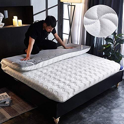 Tatami - Colchón de suelo plegable con acolchado suave y antiescaras para dormir, 90 x 200 cm