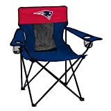 Logo Brands Officially Licensed NFL New England Patriots Unisex Elite Chair, One Size, Team Color