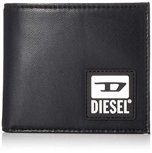 Diesel SENYO HIRESH S Wallet, Accesorio Billetera de Viaje Hombre, Negro