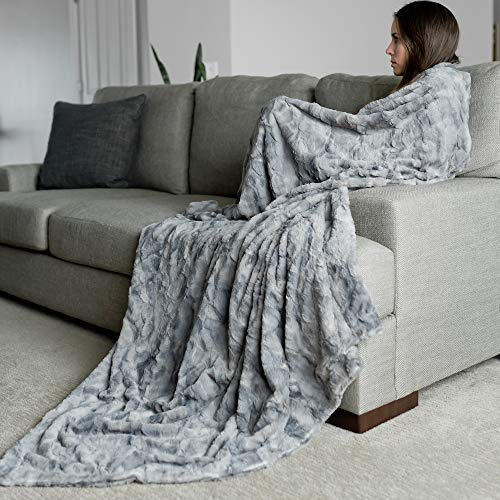 GRACED SOFT LUXURIES Oversized Softest Warm Elegant Cozy...