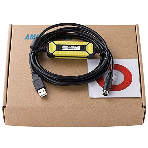 Cable de programación USB-SC09-FX para Mitsubishi PLC FX0N FX1N...