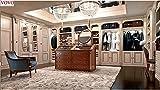 LIXUDECO Gabinete de ropa Enorme paseo en armario