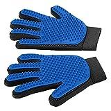 Slowton Guantes removedores de Pelo para mascotas (sólo 2 guantes), cepillo de Deshedding...