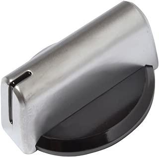 Baumatic Temperature Control Knob for Oven Cooker Grill Hob (Black / Silver)