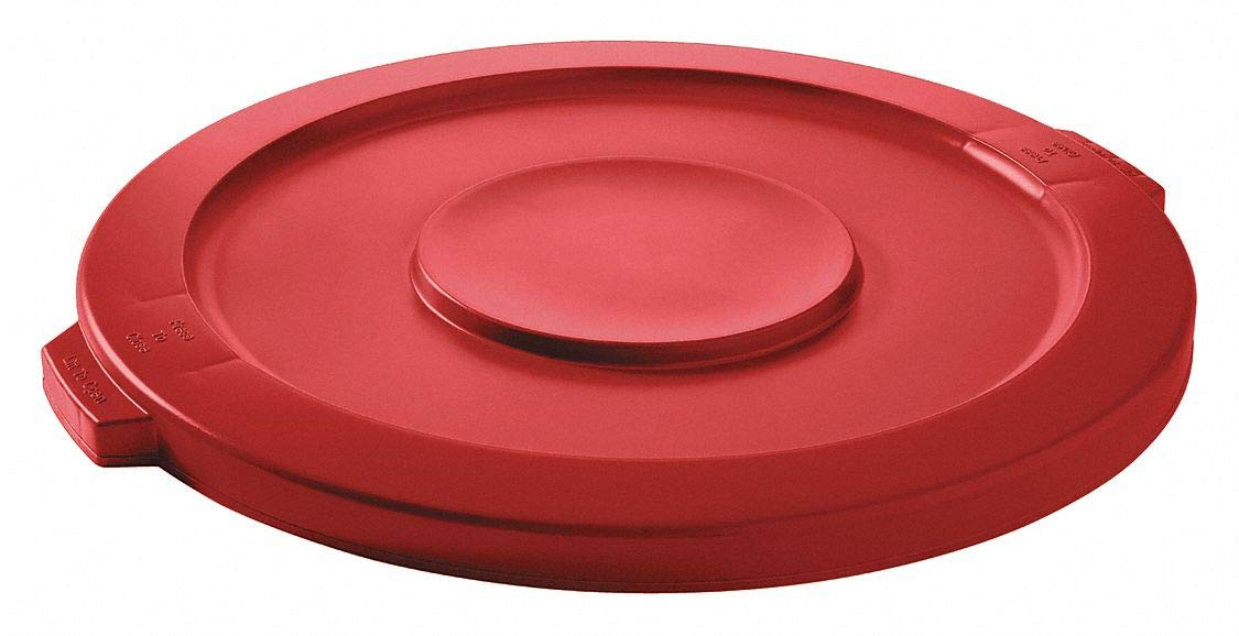 latest Rapid rise Trash Can Top Flat Snap-On Red Closure