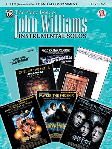 The Very Best of John Williams for Strings: Cello / Piano Accompaniment (incl. CD)