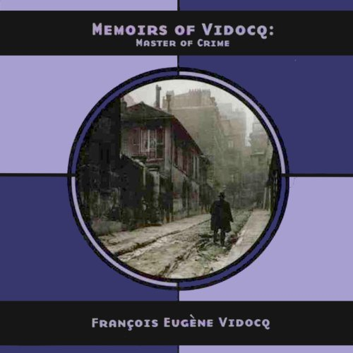 Memoirs of Vidocq audiobook cover art