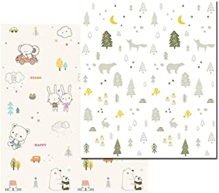 Baby Play Mat, XPE Baby Play Mat 150X200X1CM Play Mat Baby, Cartoon Bear Play Mat For Baby for Bedroom Living Room Games R...