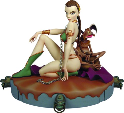 Gentle Giant Star Wars Animated Maquette Slave Leia 22 cm