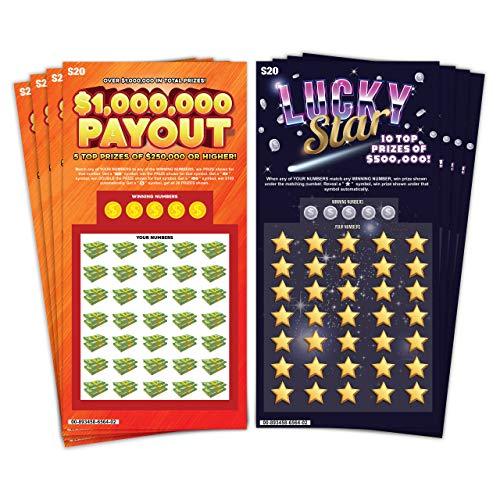 Laugh In The Box Fake lotto Ticket