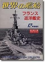フランス巡洋艦史 (世界の艦船 1998.12.増刊 No.546)