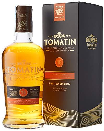 Tomatin Whisky Single Malt 15 Años