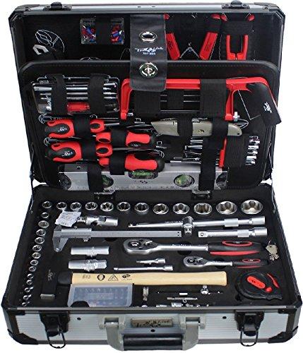 TrendLine Werkzeugkoffer 129 teilig Chrom-Vanadium, Wekzeugset, Werkzeugkasten