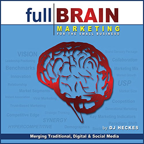 Full Brain Marketing for the Small Business audiobook cover art