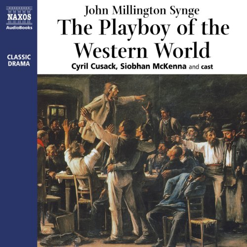 The Playboy of the Western World audiobook cover art