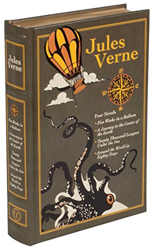 Jules Verne (Leather-bound Classics)