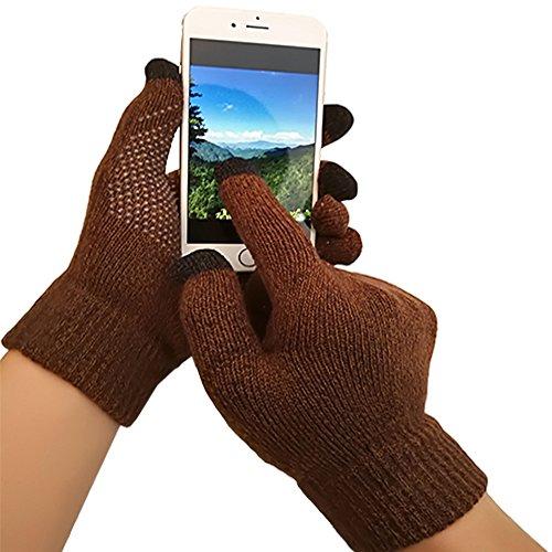 iEverest Unisex Touchscreen Handschuhe Anti-Rutsch-Handschuhe Lover Handschuhe dicke Handschuhe Smartphone Touchscreen Handschuhe für das...