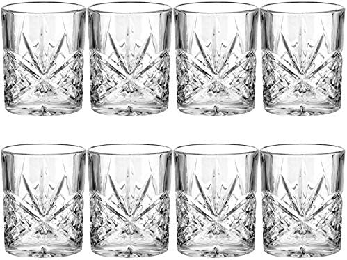 Rocks Glasses 11 oz Snifters Round Clear Drinking Glass Whisky Glasses Old Fashioned Cocktails product image
