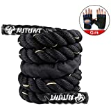 Best Weighted Jump Ropes - AUTUWT Weighted Jump Rope Skipping Rope Workout Battle Review