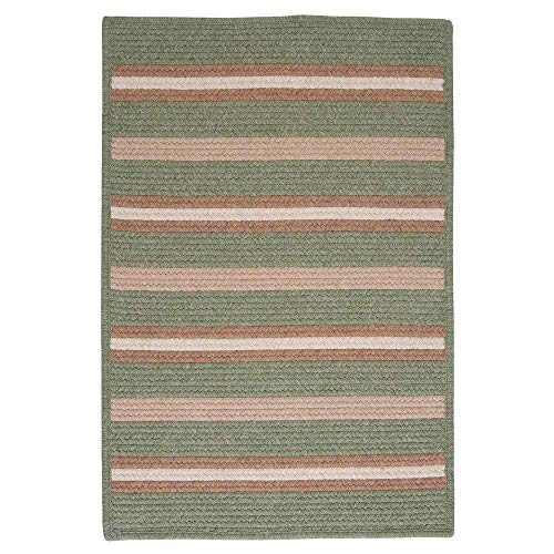 Colonial Mills Sterling Braided Reversible Rug Palm 5' x 7' Polypropylene, Wool Reversible, Made to Order 5' x 8' Living Room, Bedroom, Dining Room