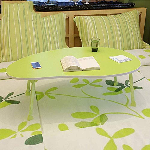 CCAN Table d'ordinateur Portable Table Pliable Bureau Table d'ordinateur Paresseux Maison Lit Simple dortoir Étudiant Écriture Petit Bureau (Couleur : Rose) Interesting Life