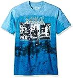 Liquid Blue Unisex-Adult's Genesis The Lamb Lies Short Sleeve T-Shirt, Multi/Blue tie dye, X-Large