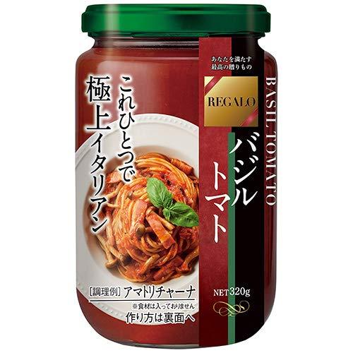 日本製粉 レガーロ バジルトマト 320g×6個入×(2ケース)