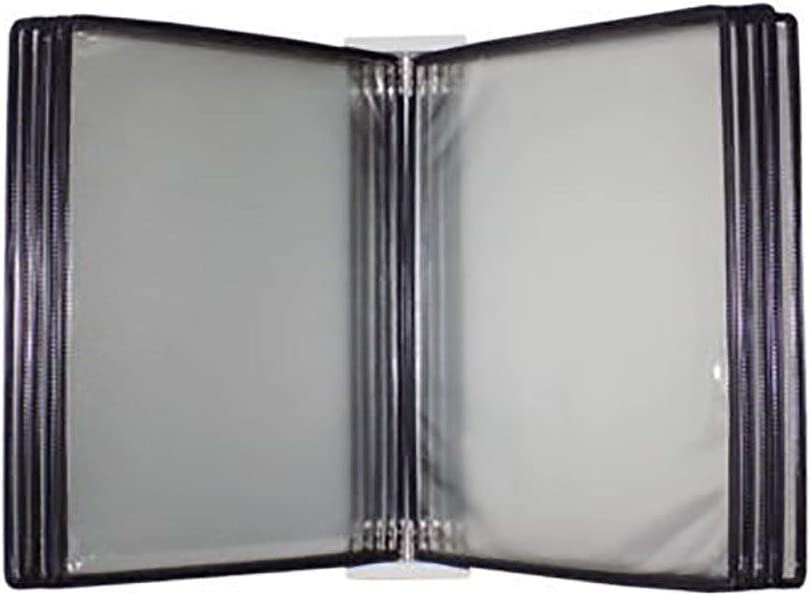 Wall Mounted A4 Flip Book Display Black and Panels At the Sale price 10 Po with 20