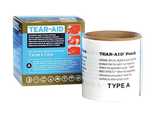 Tear-Aid - Outil de réparation - Type A - Transparent - Rouleau 1,5 mtr