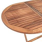 Estexo® Akazienholz Gartenmöbel Set – klappbar - 5