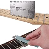 Mr.Power String Action Ruler with Fret Wire Sanding Set Luthier Tools For Electric Bass Acoustic Guitar