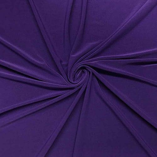 f41a16f568f ITY Fabric Polyester Lycra Knit Jersey 2 Way Spandex Stretch 58