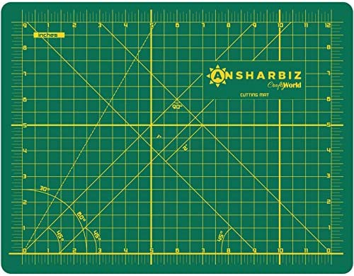 Cutting Mat for Sewing Crafts 9x12inches Sturdy Rotary Cutting Mat w Self Healing Non Slip Surface product image