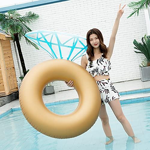 Anillo de natación de la balsa de la balsa de la balsa de la piscina de la piscina de la piscina para las mujeres adultas para las mujeres de los accesorios de la foto del grupo de los juguetes de la