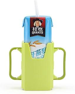 Ronshin Fashion Bottle Cup Holder Adjustable Safety Toddler Kid Juice Milk Box Drinking Bottle Cup Holder
